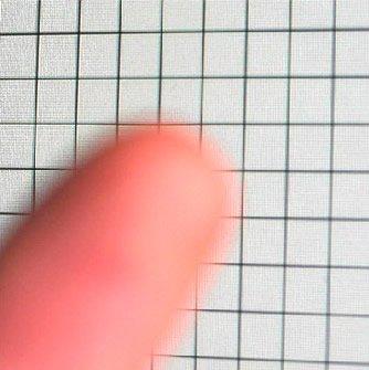 Finger on a grid