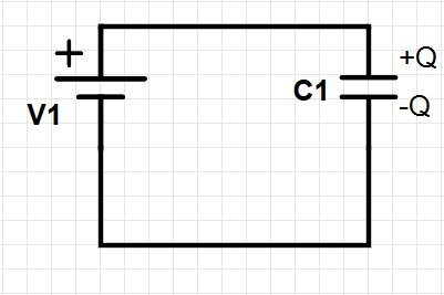 Single-capacitor circuit